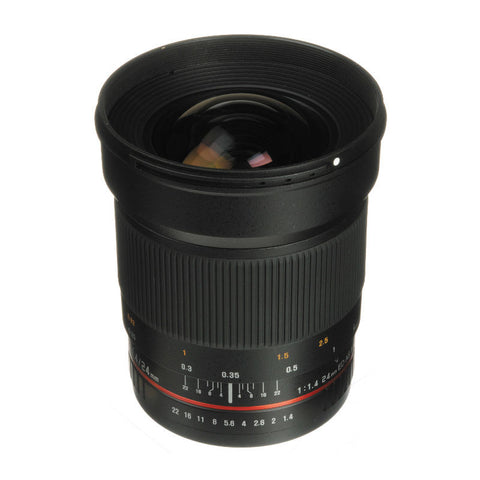 Samyang 24mm f/1.4 IF ED UMC Aspherical Lens for Canon