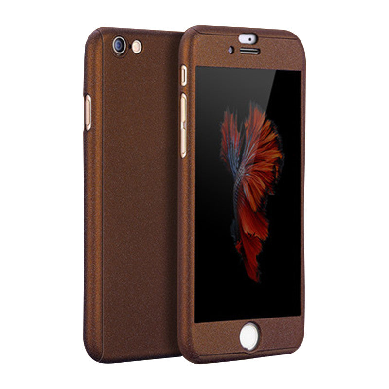 Phone Shell Matte Case 5.5 inch for iPhone 6 Plus/6S Plus (Brown)
