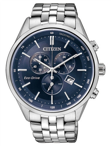 Citizen Eco-Drive Chronograph AT2140-55L Watch (New with Tags)