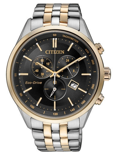 Citizen Eco-Drive Chronograph AT2144-54E Watch (New with Tags)