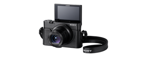 Sony LCJ-RXF Black Jacket Case For RX100, RX100II and RX100III