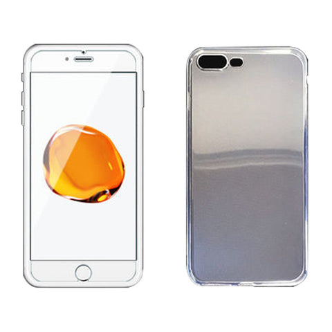 Glass Membrane Protective Film For iPhone 7 with Shell Drop Resistance Case (Transparent)
