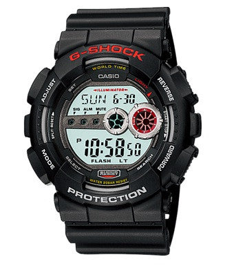 Casio G-Shock Standard Digital GD-100-1ADR Watch (New With Tags)