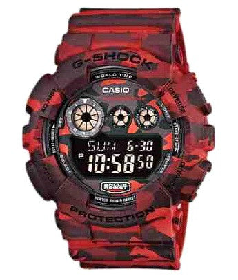 Casio G-Shock Special Color Model GD-120CM-4DR Watch (New With Tags)