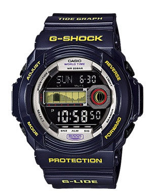 Casio G-Shock G-Shock G-Lide GLX-150B-6DR Watch (New With Tags)