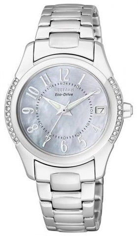 Citizen Eco-Drive Swarovski Crystal EO1041-54D Watch (New with Tags)