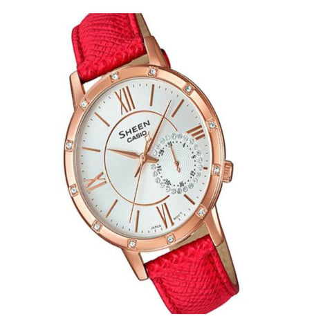 Casio Sheen SHE-3046GLP-7B Watch (New with Tags)