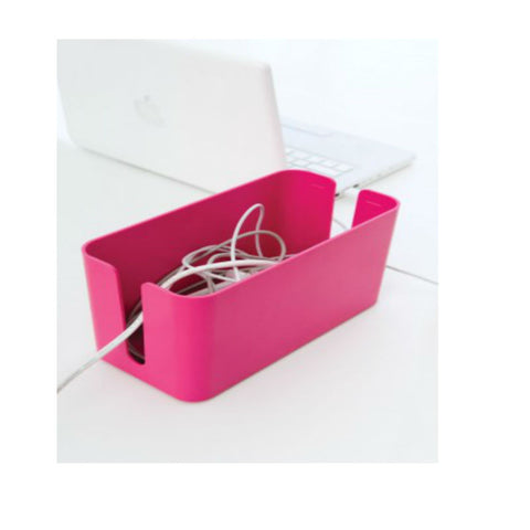 BlueLounge Cable Box Mini CBM-PNK (Pink)