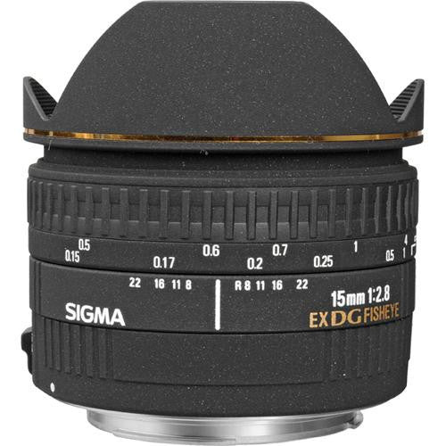 Sigma 15mm F2.8 EX DG DIAGONAL FISHEYE (Sony) Lens