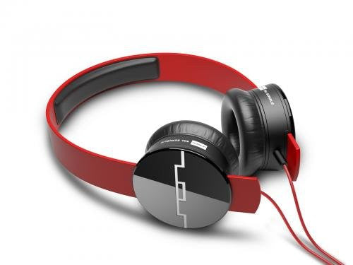 SOL Republic Tracks 1211-03 On-Ear Headphones (Red)