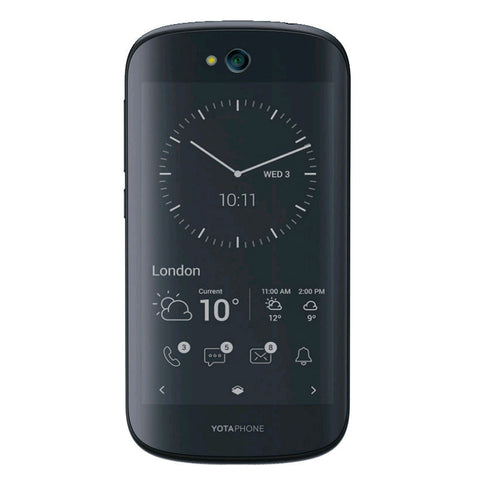 YotaPhone 2 32GB 4G LTE Black (YD201) Unlocked