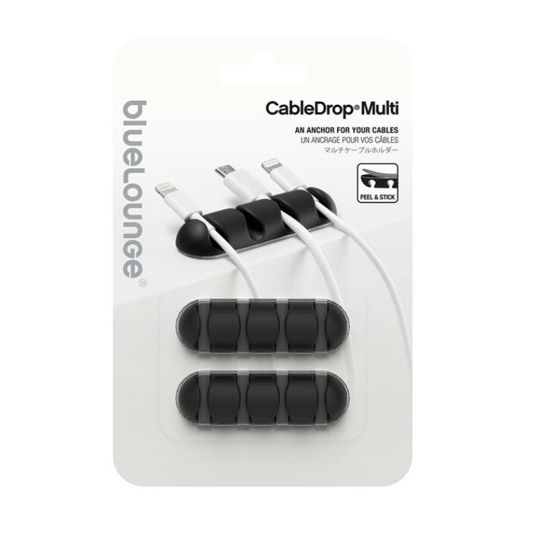 BlueLounge CDMU-BK Cable Drop Multi (Black)