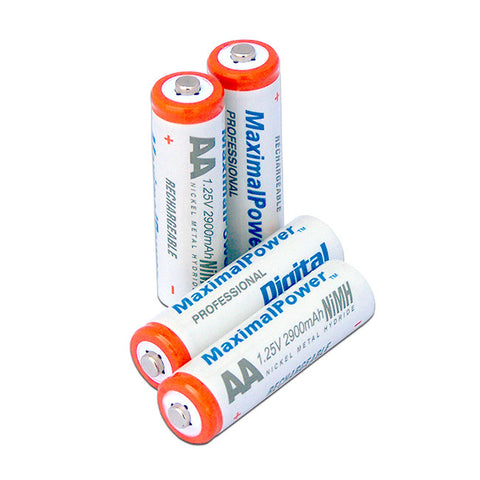 Maximal Power Ni-MH AA Rechargeable Generic Battery