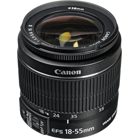 Canon EF-S 18-55mm f3.5-5.6 IS STM Black (White Box)