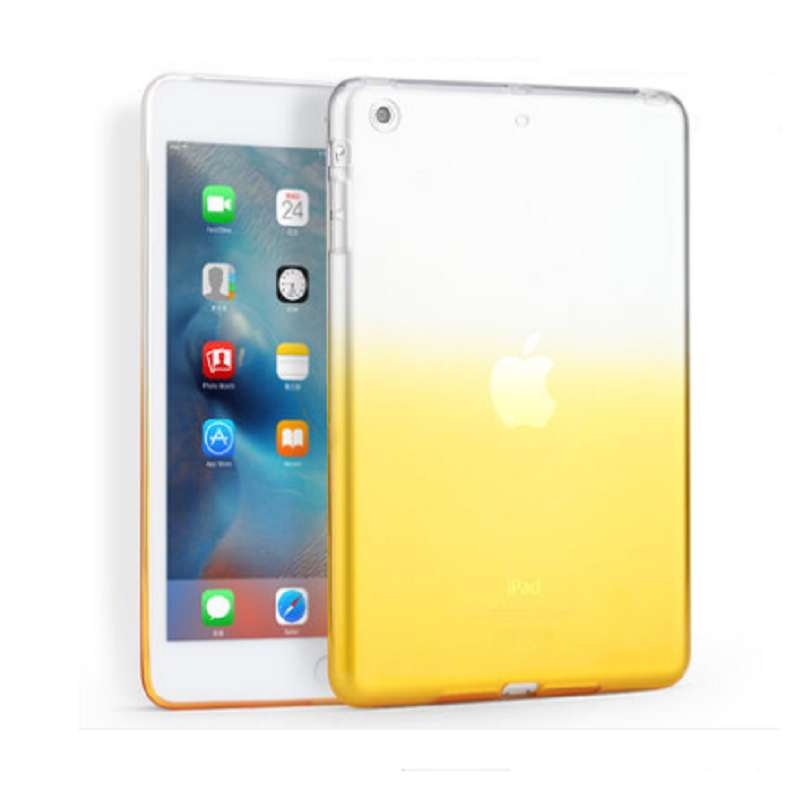 Thin Protective Sleeve Shell for Apple iPad Air (Gradient Yellow)
