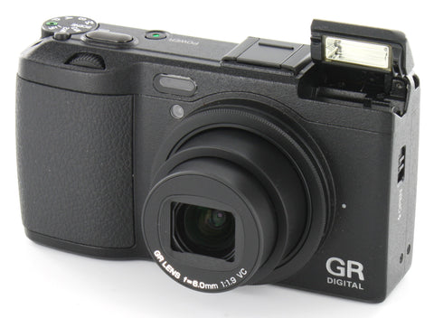 Ricoh GR Digital IV Black Digital Camera