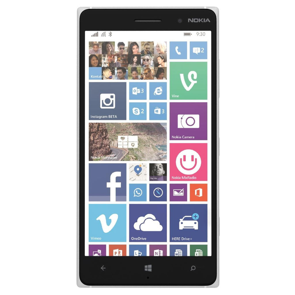 Nokia Lumia 830 16GB 4G LTE White Unlocked