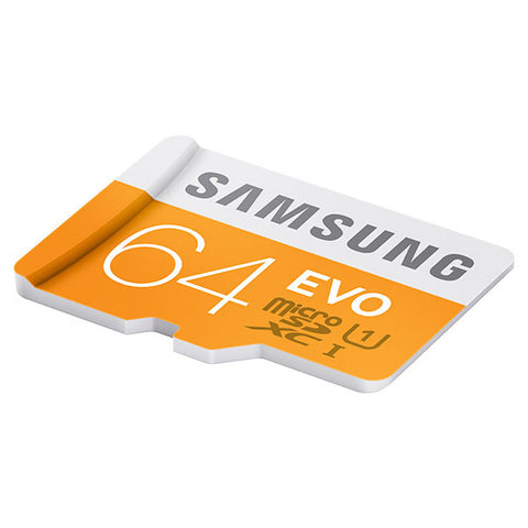 Samsung T-Flash Evo 64GB MicroSDHC Class 10 (MB-MP64DA) Memory Card with Adapter