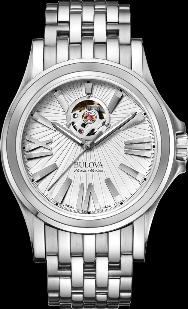Bulova AccuSwiss Kirkwood Analogue 63A125 Watch (New with Tags)