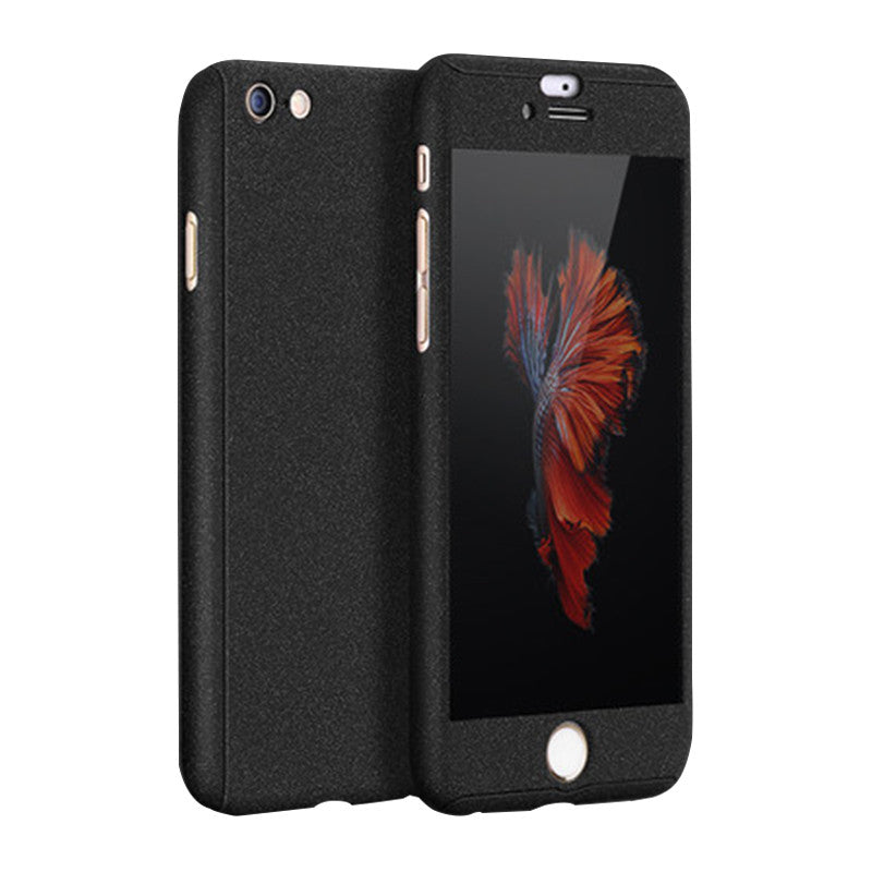 Phone Shell Matte Case 5.5 inch for iPhone 6 Plus/6S Plus (Black Fortitude)