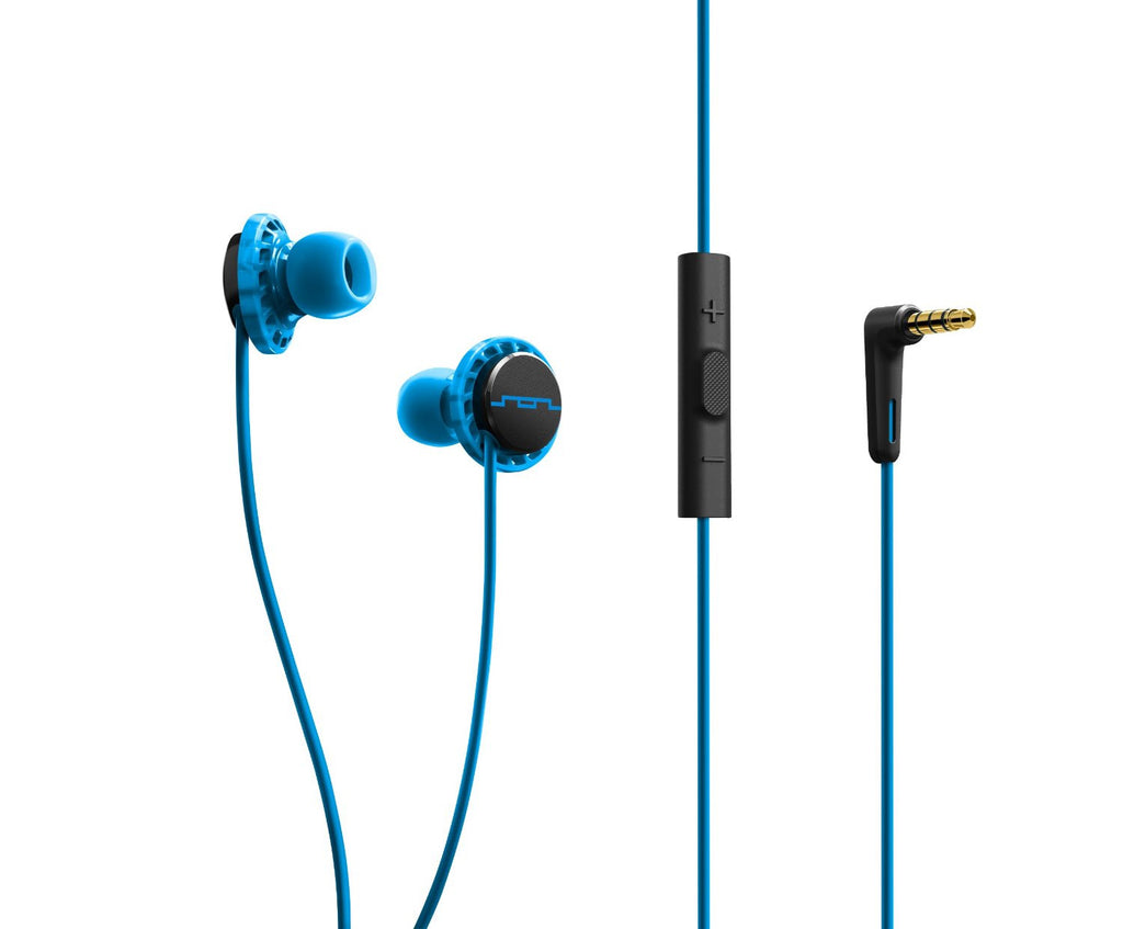 SOL Republic Relays-MFI Crossover Headphones (Blue)