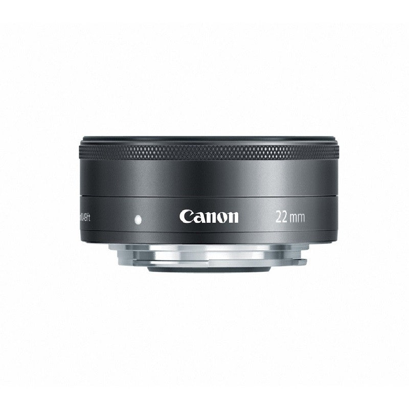 Canon EF-M 22mm f2.0 STM Black Lens (White Box)