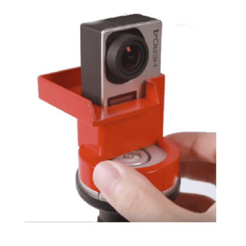 Slopes Pano 5 + 1 Polyhedron Stand for GoPro (Red)