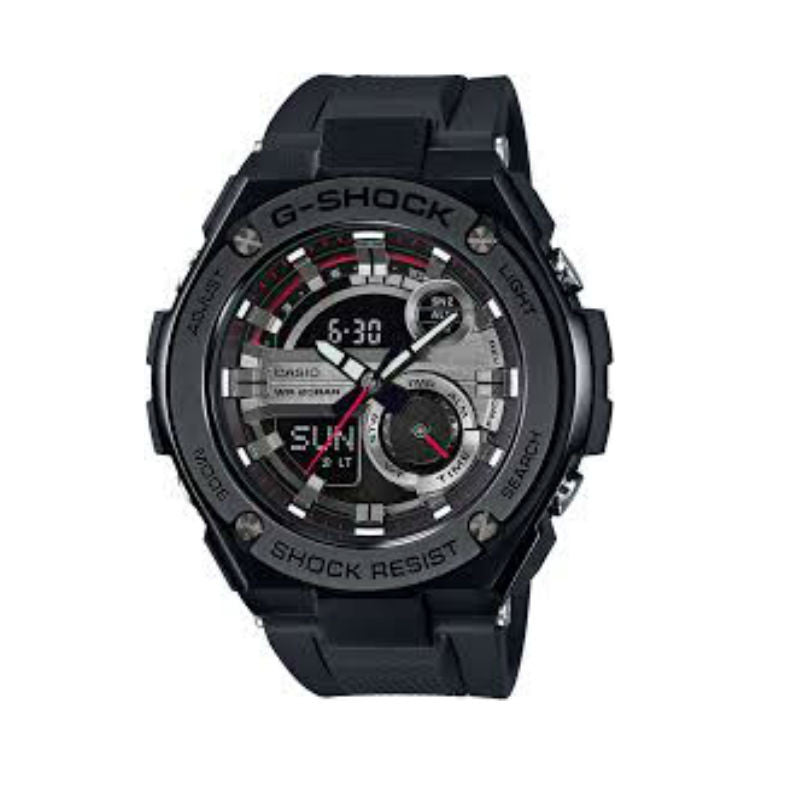 Casio G-Shock G-Steel GST-210B-1A Watch (New with Tags)