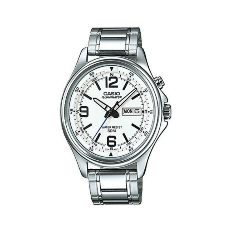Casio Illuminator MTP-E201D-7BV Watch (New with Tags)