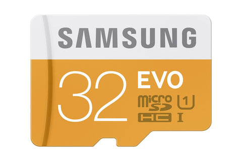Samsung T-Flash Evo 32GB MicroSDHC Class 10 (MB-MP32DA/EU) Memory Card with Adapter