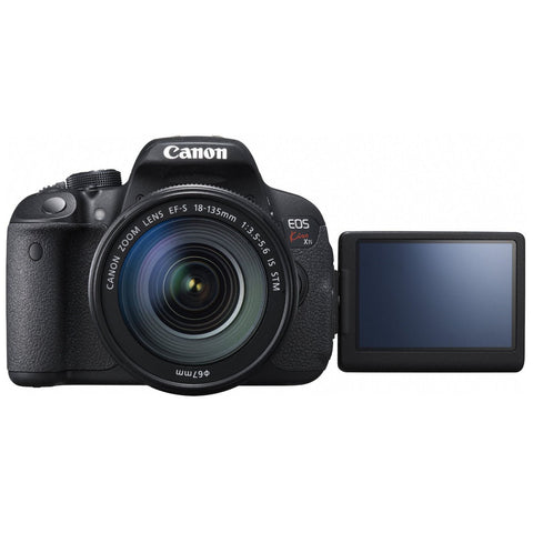 Canon EOS X7i Kit with 18-135 IS STM Lens Black Digital SLR Camera