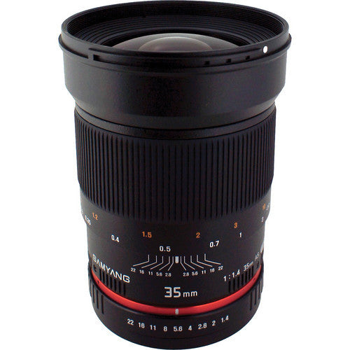 Samyang 35mm f/1.4 AS UMC (Pan, OM 3/4 Mount) Lens