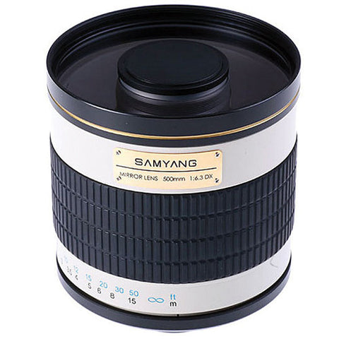 Samyang 500mm MC IF f/6.3 Mirror w/T2 Mount (Nik) Lens
