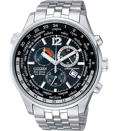 Citizen Eco-Drive Chronograph AT0365-56E-SET Watch (New with Tags)