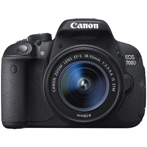 Canon EOS 700D Kit with EF-S 18-55mm f/3.5-5.6 IS STM Lens