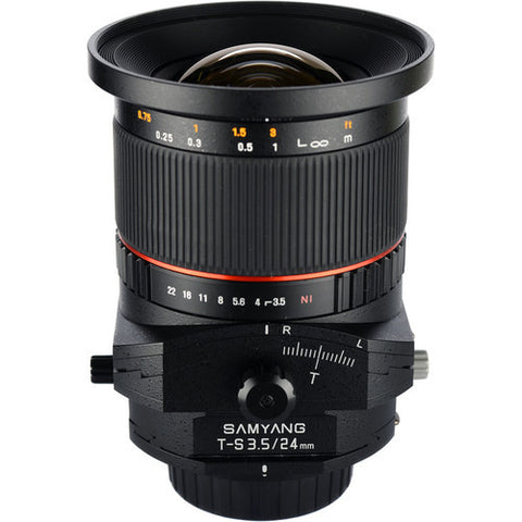 Samyang T-S 24mm f/3.5 ED AS UMC (Nikon)