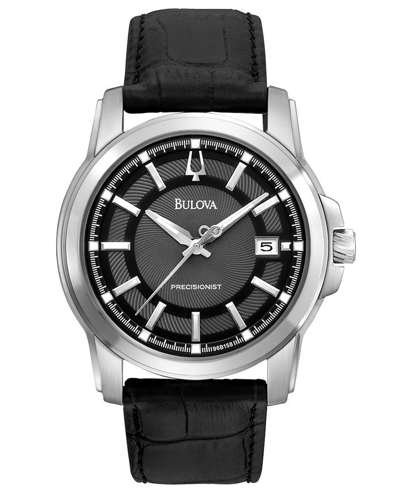 Bulova Precisionist Langford Analogue 96B158 Watch (New with Tags)