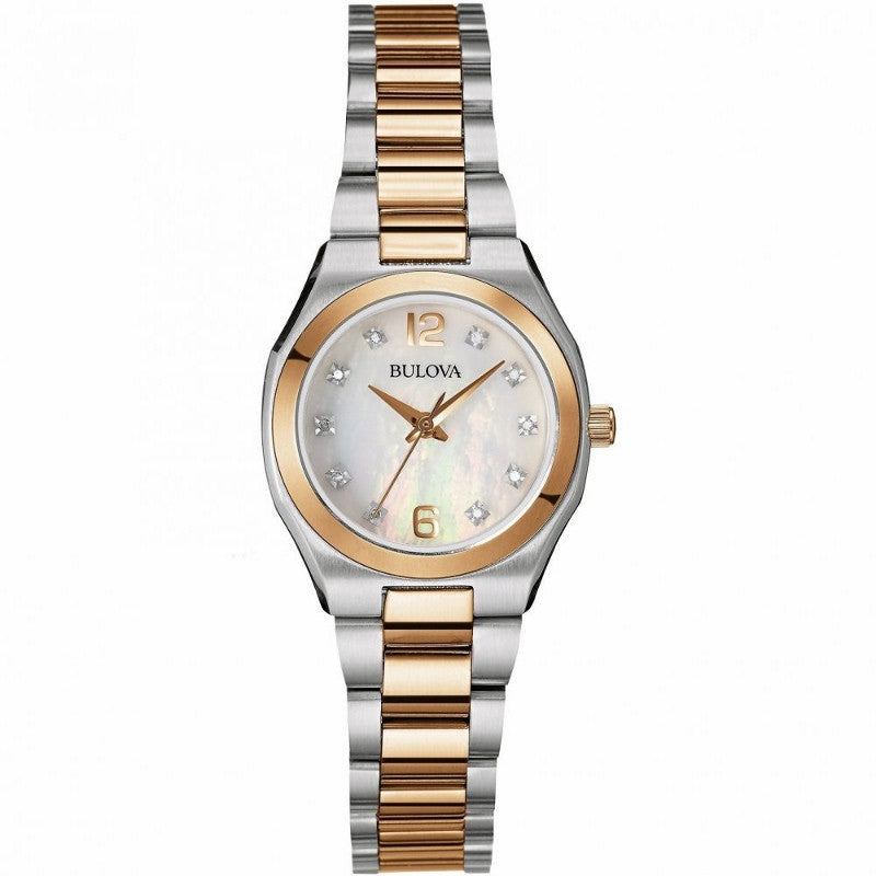 Bulova Diamond Gallery Analog 98P143 Watch (New with Tags)
