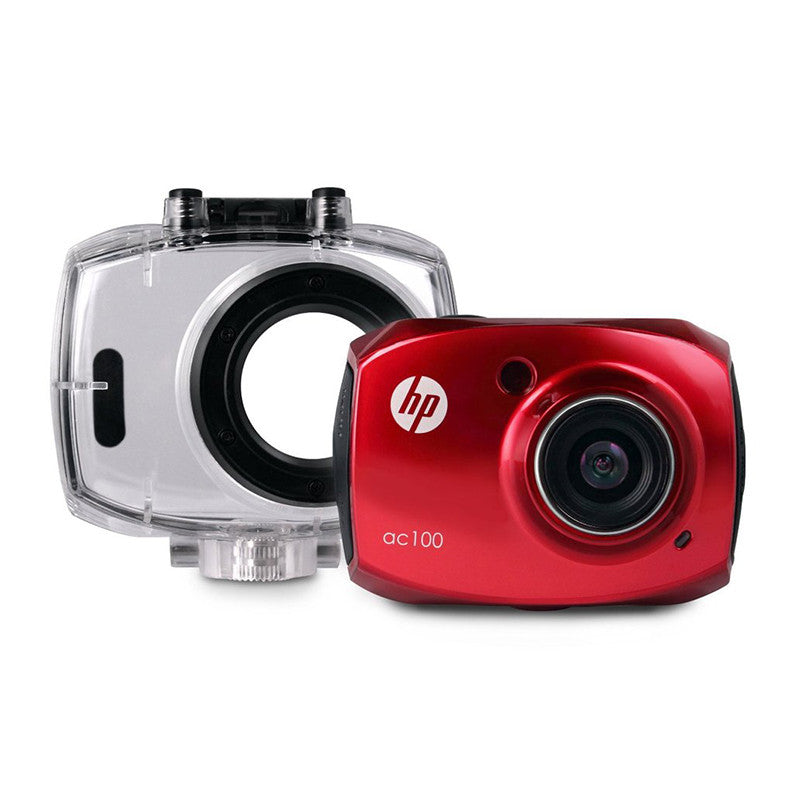 HP AC100 Red Digital Action Camera