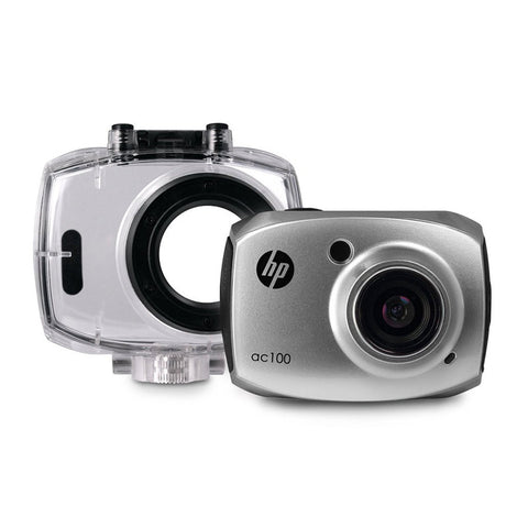 HP AC100 Silver Digital Action Camera