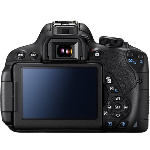 Canon EOS 700D Kit with EF-S 18-55mm f/3.5-5.6 IS STM and EF-S 55-250mm f/4-5.6 IS STM Lens Black Digital SLR Camera