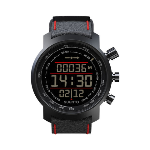 Suunto Elementum Terra SS019171000 Sports Watch Black/Red Leather