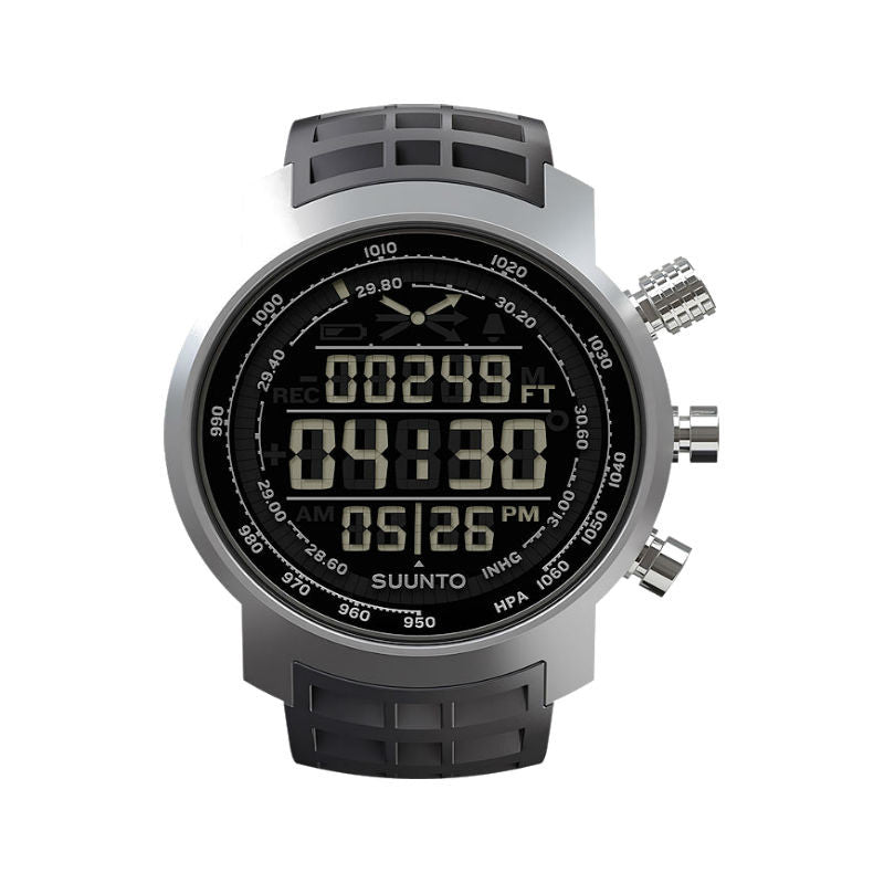 Suunto Elementum Terra SS014522000 Sports Watch Black Rubber/Dark Display