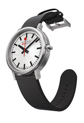 Mondaine Basic Stop to go Quartz A512.30358.16SBB Watch (New with Tags)