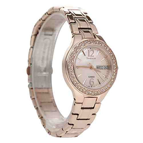 Casio Sheen SHE-4800PG-9A Watch (New with Tags)