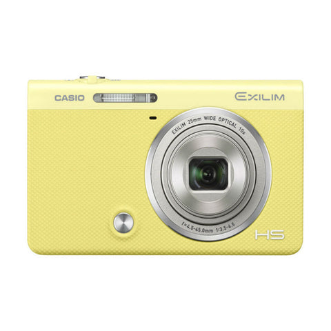 Casio Exilim EX-ZR65 Yellow Digital Camera
