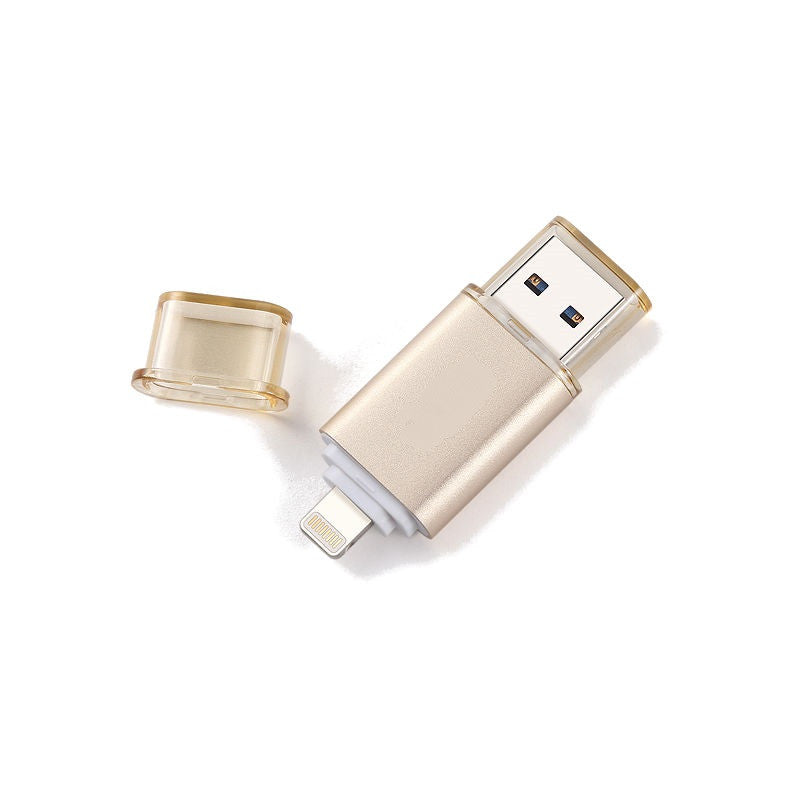 Flash Drive for iPhone 6/6s/5/5s 64GB (Gold)