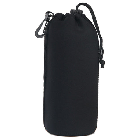 Barrel DSLR Camera Lens Bag Extra Large (Black)