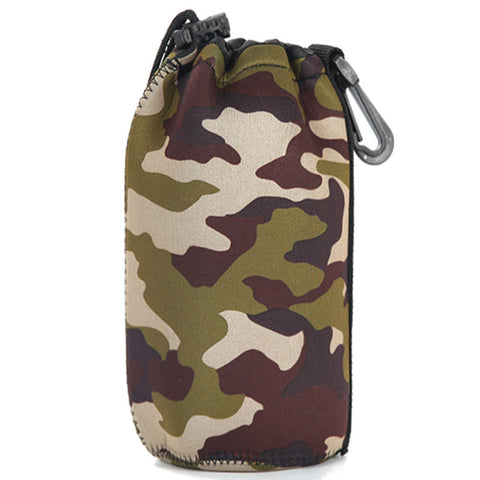 Barrel DSLR Camera Lens Bag Extra Large (Camouflage)
