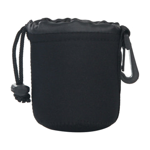 Barrel DSLR Camera Lens Bag Small (Black)